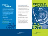 BICYCLE ACCESS - Philadelphia International Airport