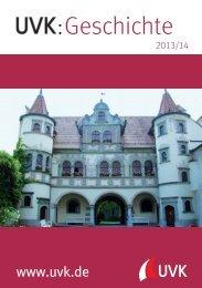 Der aktuelle Geschichte Prospekt als PDF - UVK Verlagsgesellschaft