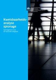 Kwetsbaarheidsanalyse Spionage - AIVD