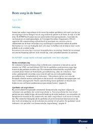 AO geneesmiddelenbeleid - Beste zorg in de buurt (voor ... - KNMP