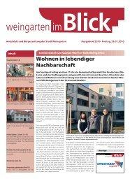 Ausgabe 4/2010 - Weingarten im Blick