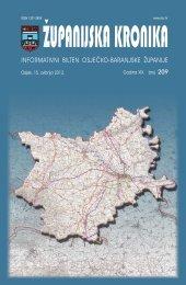 Županijska kronika broj 209 - Osječko baranjska županija