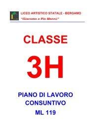3H - Liceo Artistico Statale di Bergamo