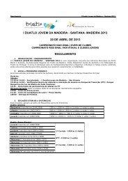 I Duatlo Jovem da Madeira – Santana 2013 - Triatlo Madeira