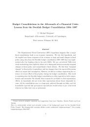 Budget Consolidations in the Aftermath of a Financial Crisis ...