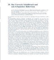 20. Das Vorwerk Schollbruch und sein Erbpächter ... - Ullrich, Kerstin