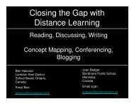 Closing the Gap with Distance Learning - pdtogo.com