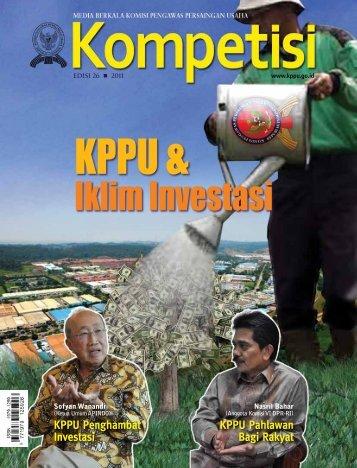 Edisi 26 Tahun 2011 - KPPU
