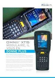 Omnii XT15 Fiche Technique - Psion