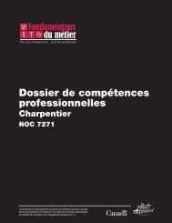 Dossier de compétences professionnelles : Charpentier - Base de ...