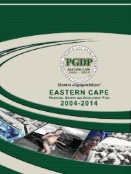 Provincial Growth and Development Plan - Eastern Cape ...