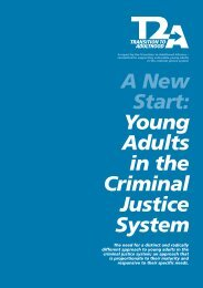 A New Start: Young Adults in the Criminal Justice System