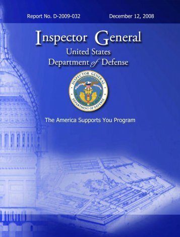 Department of Defense Inspector General report - Wired