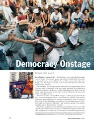 Democracy Onstage - christopher reardon
