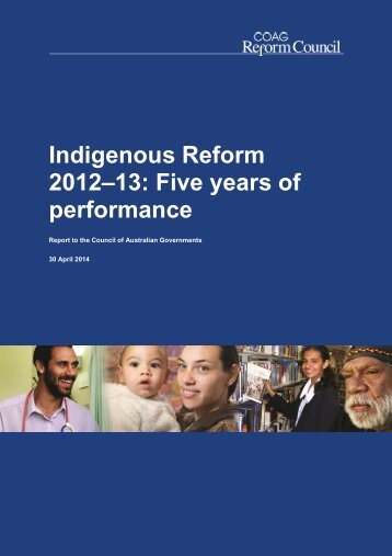 Indigenous Reform 2012-13 Five years of performance_30 April 2014