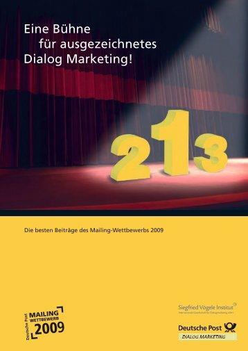 Eine Bühne für ausgezeichnetes Dialog Marketing!