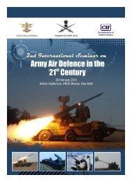 2nd International Army Air Defence Seminar - CII National ...