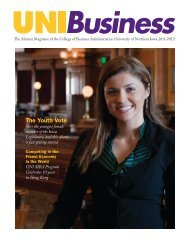 The Youth Vote - College of Business Administration - University of ...