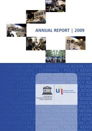 programmes in 2009 | adult education - UNESCO Institute for ...