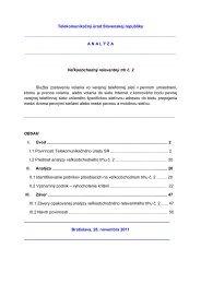 Analýza konzultovaná v procese národných konzultácií