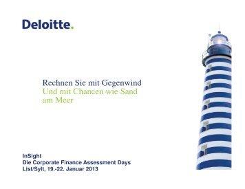 Deloitte_InSight 2013 - FACT- Finance Auditing Controlling Taxation