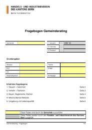 Fragebogen zum Gemeinderating (PDF) - Handels- und ...