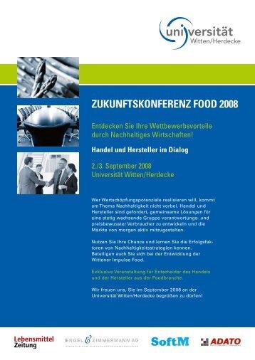 ZukunftskonferenZ food 2008