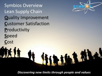 Symbios Overview Lean Supply Chain Quality Improvement ...