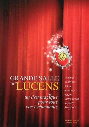 Plaquette en PDF - Lucens