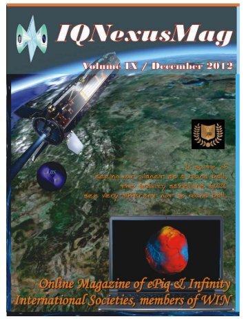 Vol 9. Published 12/01/2012 - IQ Nexus Website