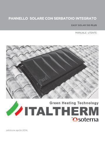 Pannello Solare Integrato Quality : Pannello solare parte