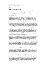 Ein Erhard für alles - Rijnland-weblog