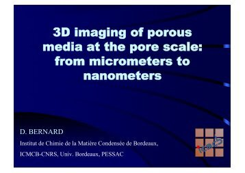 3D imaging of porous media at the pore scale - Rs-pore2field.com