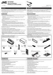 KD-NX901 - JVC