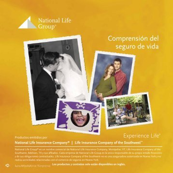 Comprensión del seguro de vida - National Life Group