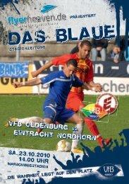 Eintracht Nordhorn - VfB Oldenburg