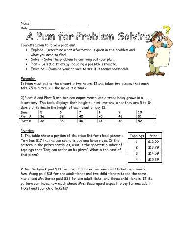 Metaphor Worksheets Excel Psy  Week  Practice Problems Worksheet Consonant Blends Worksheets Free Excel with Worksheet Adding And Subtracting Fractions Problem Solve Worksheet  Van Ripers Math Class Reading Scales Ks2 Worksheet Word
