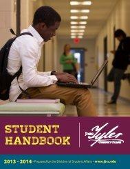 2013-2014 Student Handbook - John Tyler Community College