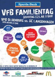 Sonntag 174 ab 11 Uhr - VfB Oldenburg