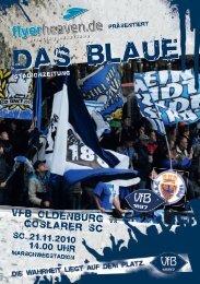 Goslarer SC - VfB Oldenburg