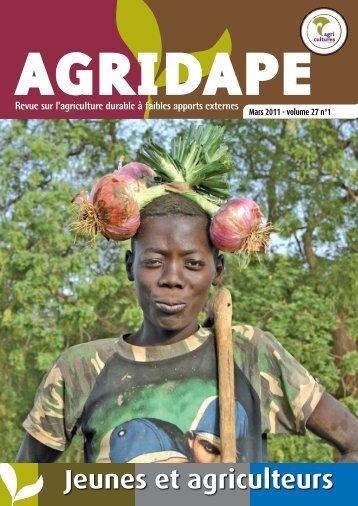Jeunes et agriculteurs - AgriCultures Network