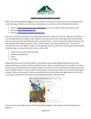 Page 1 of 2 Student E-mail Password Reset Instructions WARNING ...