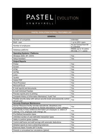 Sage 100 & 200 Evolution Product Training