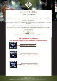 Covert MP6 & MP6 Lost Dansk Quick Guide - 4Recon