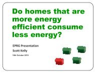 Do homes that are more energy efficient consume less energy?