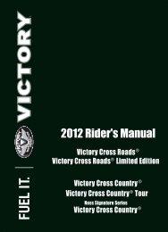 2012 Rider's Manual - Polaris