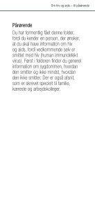 Om hiv og aids – til pårørende - Hiv-Danmark - Page 3