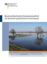 Raumordnerische Zusammenarbeit im deutsch-polnischen Grenzraum