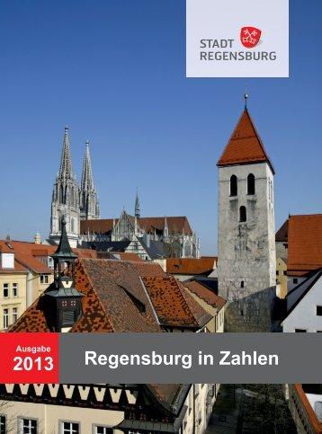 Regensburg in Zahlen 2013 - Statistik - Stadt Regensburg