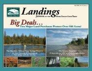Landings- Fall 2008 (1.4 mb) - Door County Land Trust